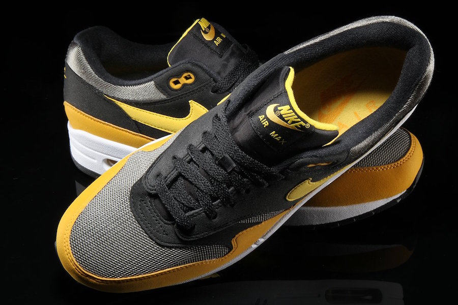 Nike Air Max 1 Vivid Sulfur Black AH8145-001