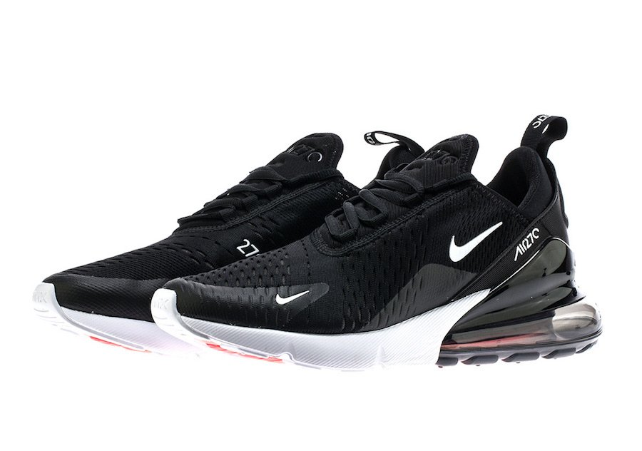 Nike Air Max 270 Black White AH8050-002