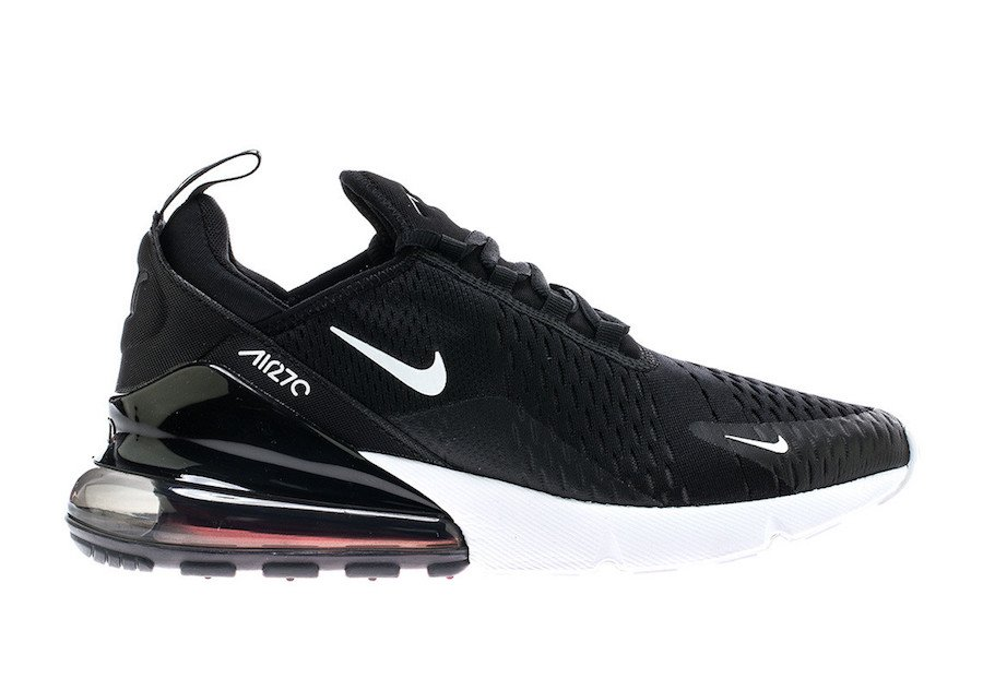 Cheap Air Max x Nike Air Max 270 Black White AH8050-002