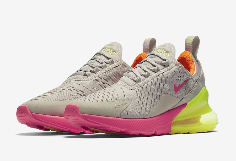 Nike Air Max 270 Neon Pink Yellow Orange | HYPEBEAST