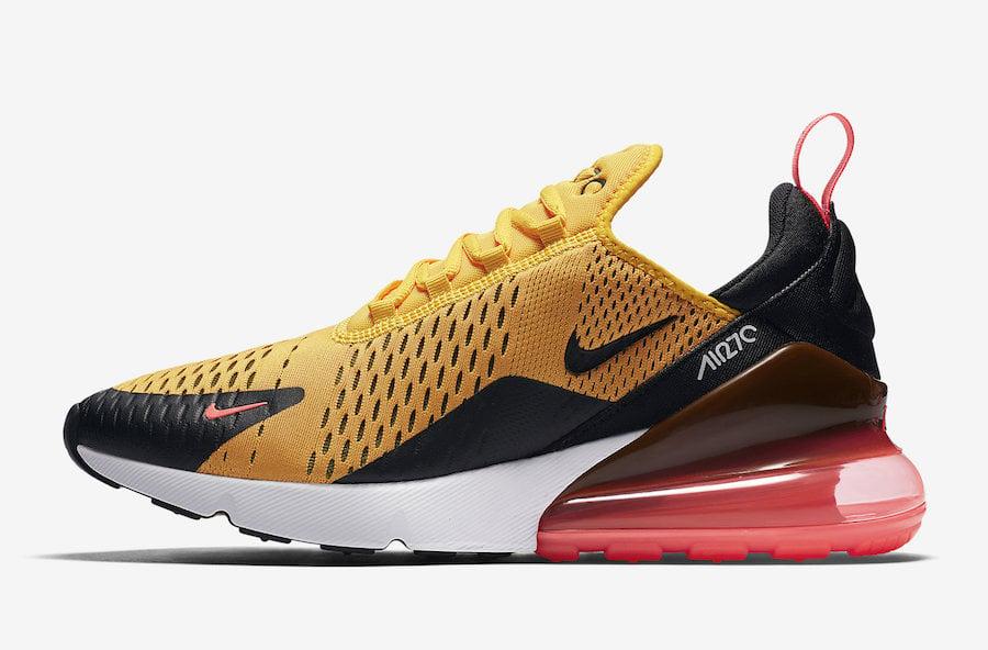 Nike Air Max 270 Poinçonner L'or RivD3ug3UT