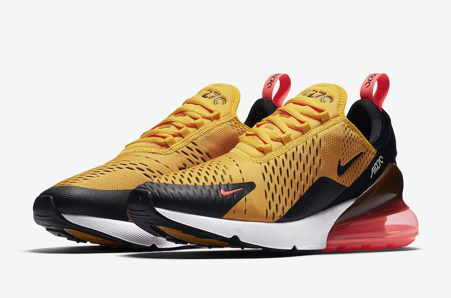 Nike Air Max 270 Tiger University Gold AH8050-004
