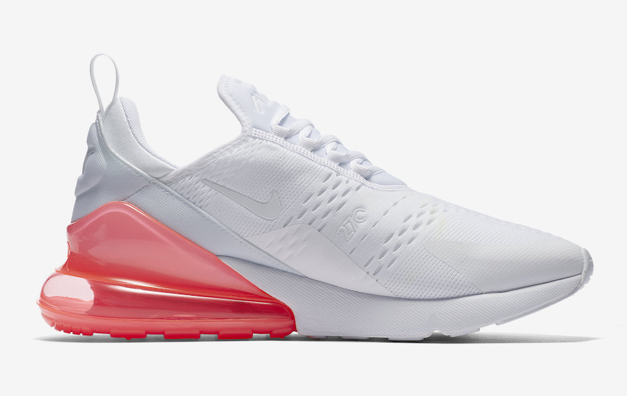 Nike Air Max 270 White Hot Punch AH8050-103
