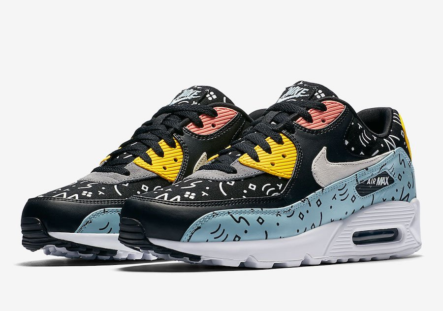 This Nike Air Max 90 Premium Comes With Doodles All Over It