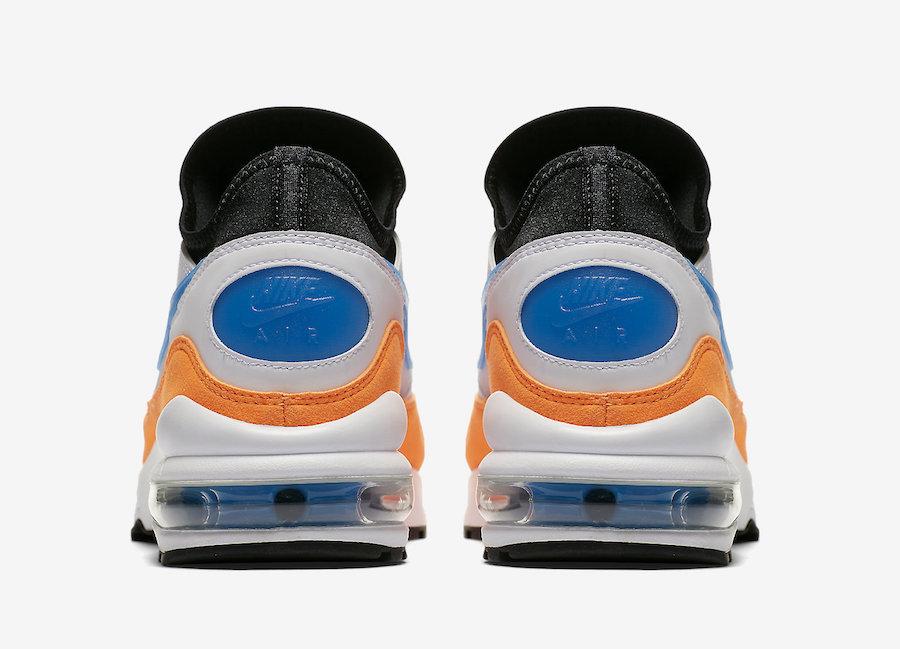 Nike Air Max 93 Blue Nebula Total Orange 306551-104