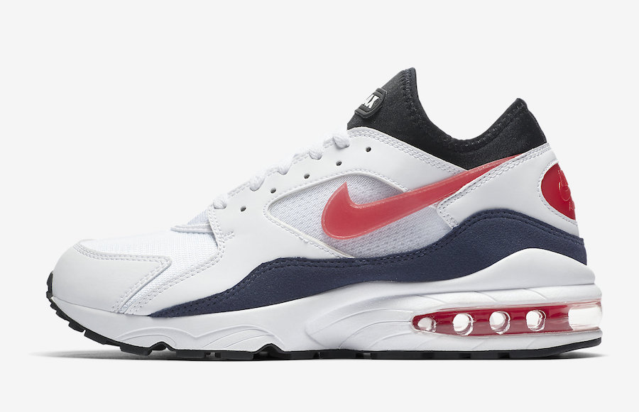 Nike Air Max 93 OG Flame Red 2018 Retro 306551-102