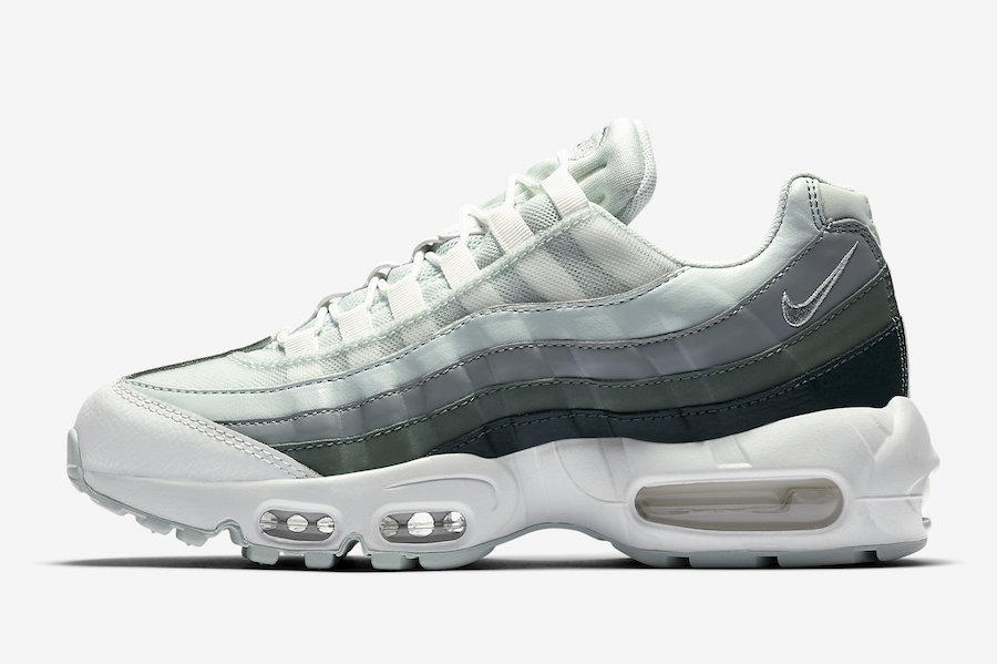 Nike Air Max 95 Barely Grey Green 307960-013