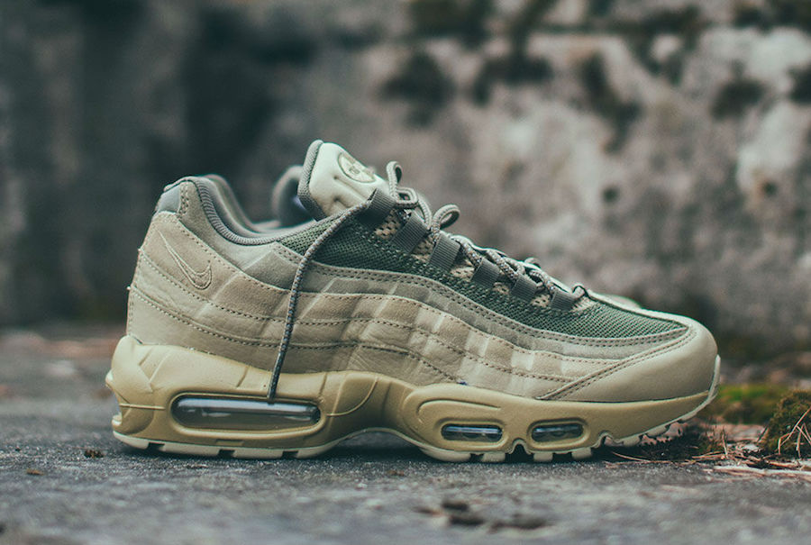 267e8e89a87694 Nike Air Max 95 Premium Neutral Olive 538416-201