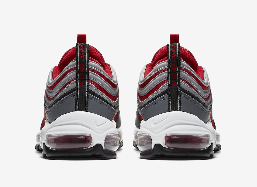 Nike Air Max 97 Gym Red Grey 921826-007