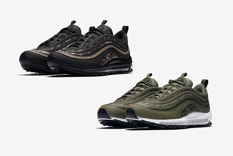 watch da482 441d1 Nike Air Max 97 Tiger Camo AQ4132-001 AQ4132-200 | SneakerFiles