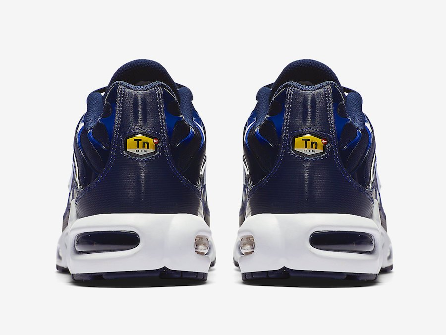 Nike Air Max Plus Blue Yellow Gradient 852630-407