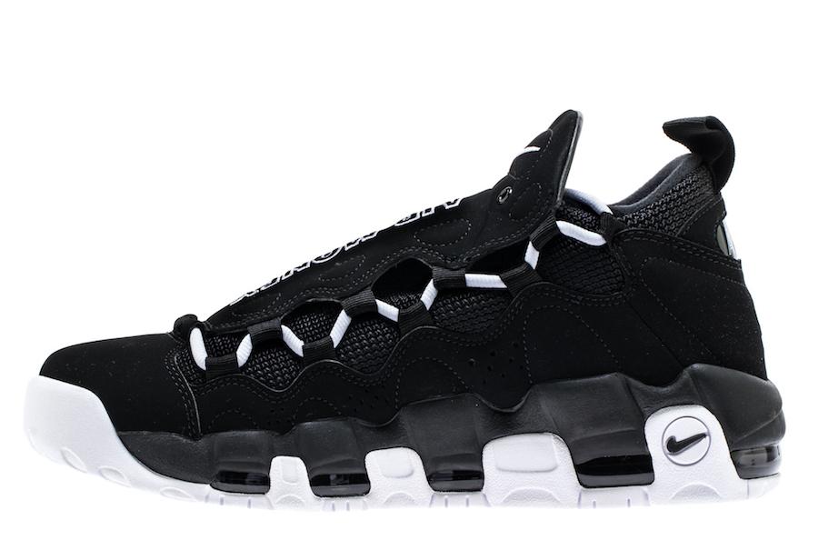 Nike Air More Money Black White AJ2998-001
