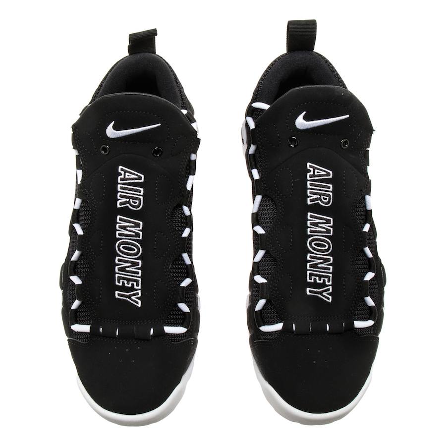 Nike Air More Money Black White AJ2998-001