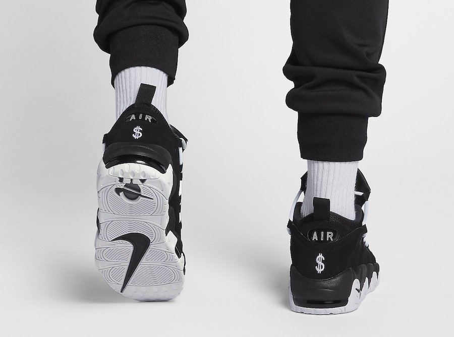Nike Air More Money Black White Release Date