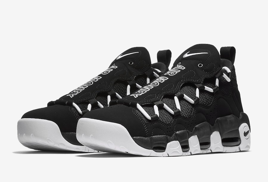 7d1cf798905 Nike Air More Money Black White Release Date