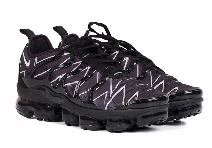 Nike Air VaporMax Plus Black White Zig-Zag AJ6312-001