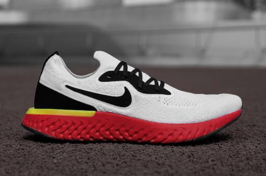 Nike Epic React Red Soles