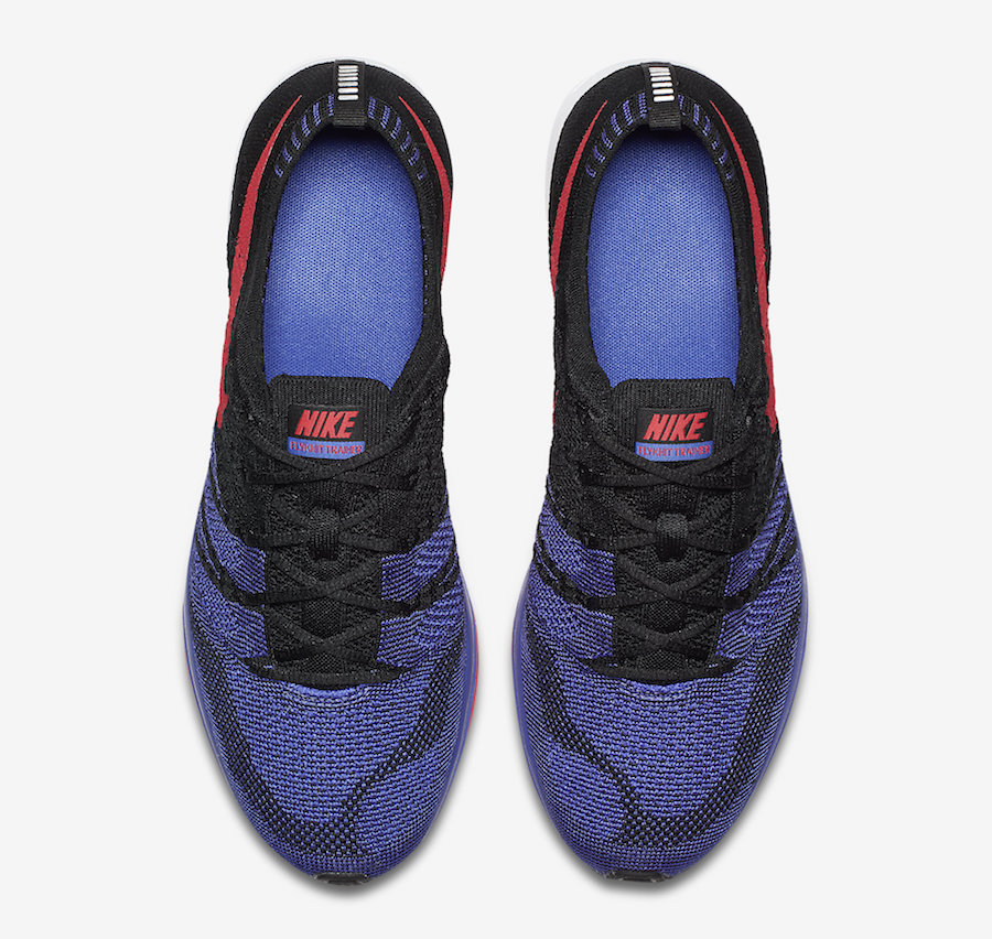 Nike Flyknit Trainer Persian Violet Siren Red AH8396-003