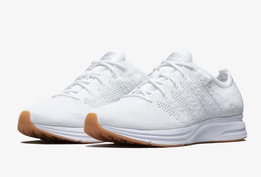 Nike Flyknit Trainer White Gum