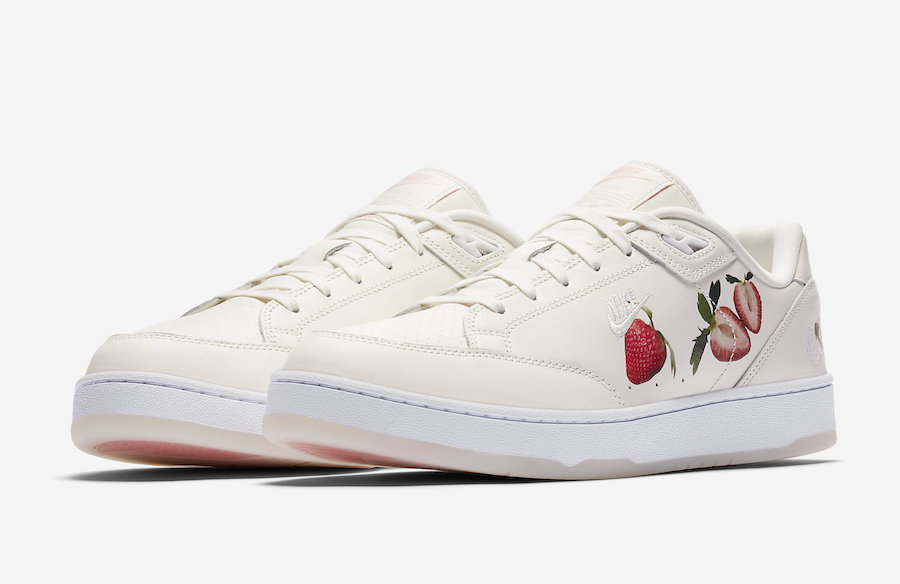 new concept d6d88 2c088 Nike Grandstand II Pinnacle Strawberries and Cream AO2642-100
