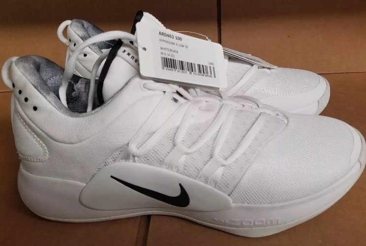 Nike Hyperdunk 10 Low White Black AR0463-100