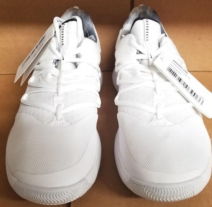 Nike Hyperdunk 10 Low White Black AR0463-100