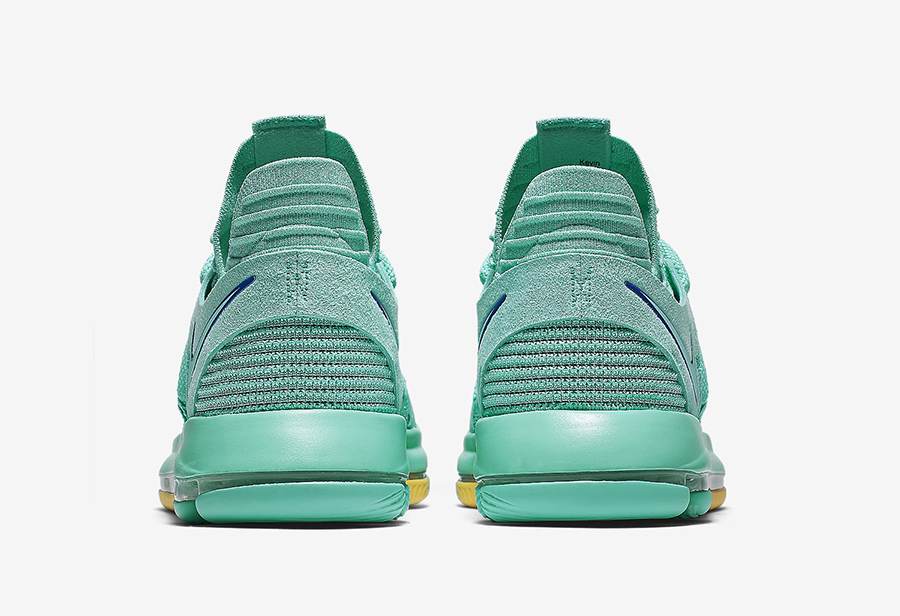 Nike KD 10 City Edition 2 Hyper Turquoise 897816-300