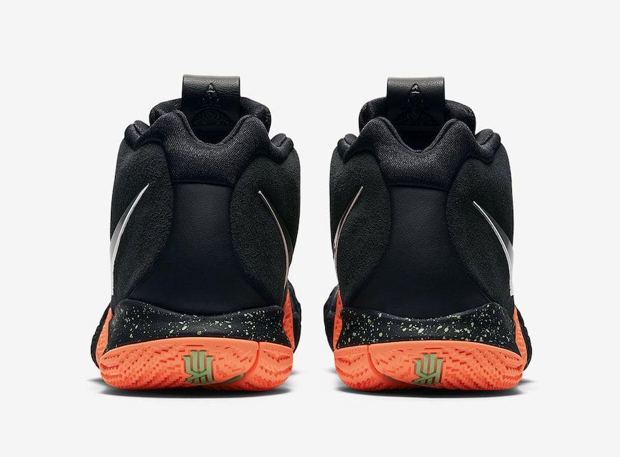 Nike Kyrie 4 Black Silver Orange 943806-010