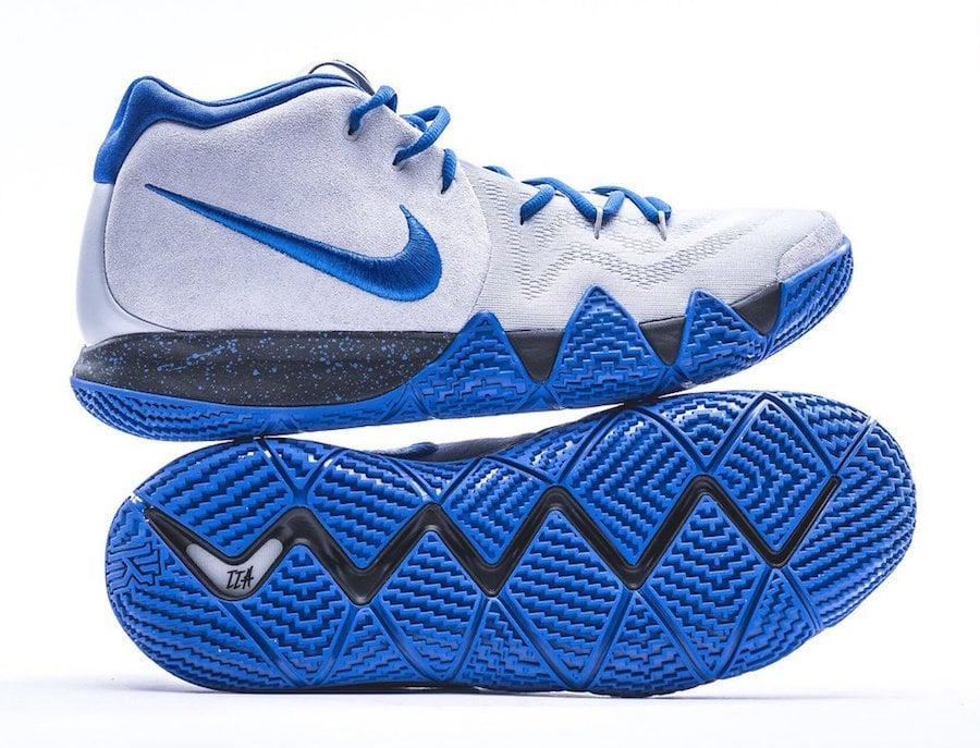 super popular 1a388 a2f8a Nike Kyrie 4 Duke PE March Madness