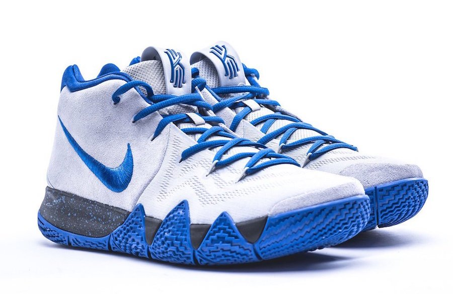super popular 2abb2 6fe2f Nike Kyrie 4 Duke PE March Madness