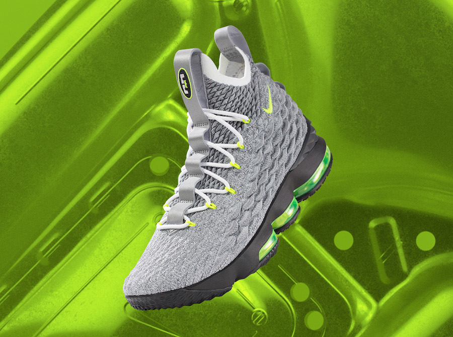 Nike LeBron 15 Neon LeBron Watch AR4831-001