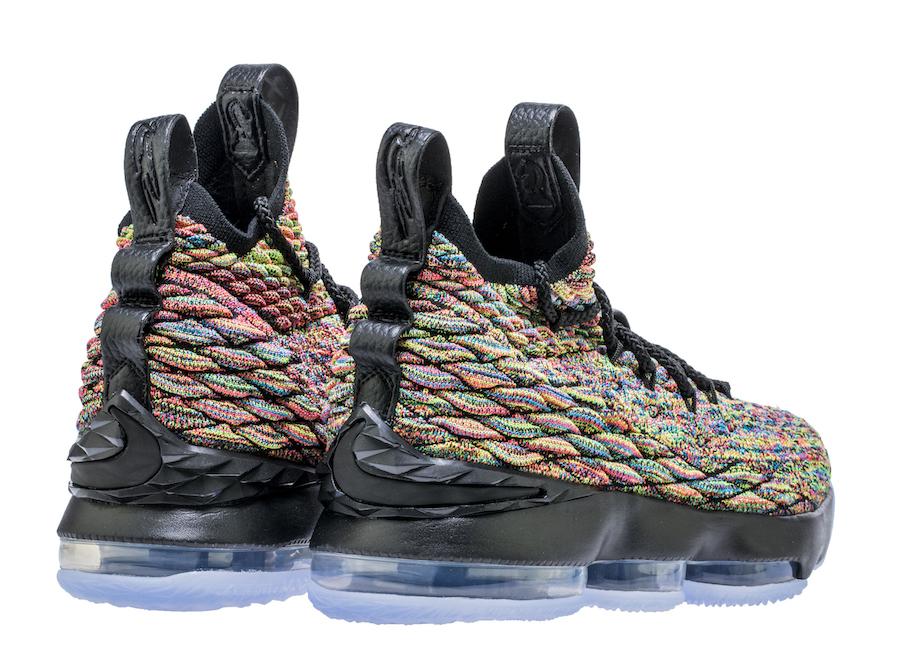 Nike LeBron 15 Fruity Pebbles Black GS Kids