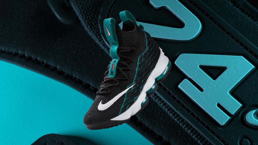 Nike LeBron 15 Griffey Black Rio Teal White AR5126-001