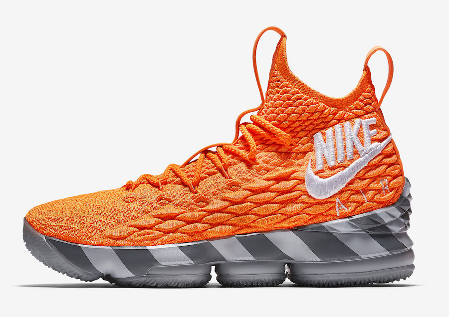 Nike LeBron 15 Orange Box AR5125-800