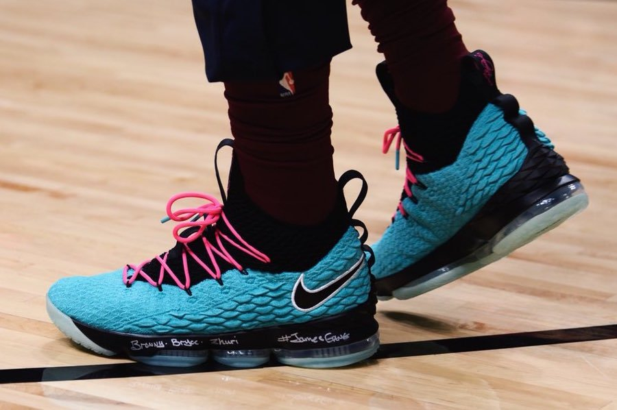 Nike LeBron 15 South Beach