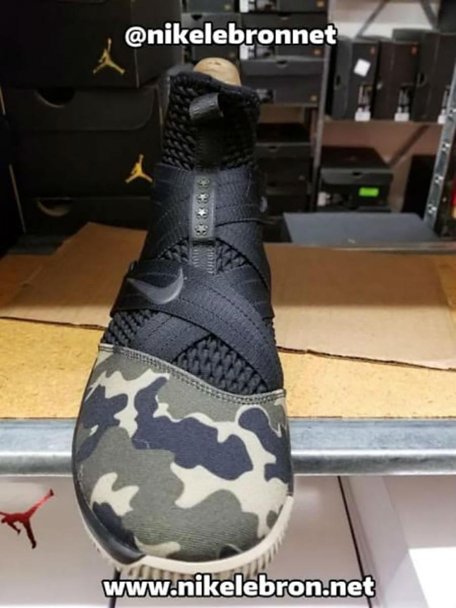 Nike LeBron Soldier 12 SFG Black Hazel Rush AO4054-001