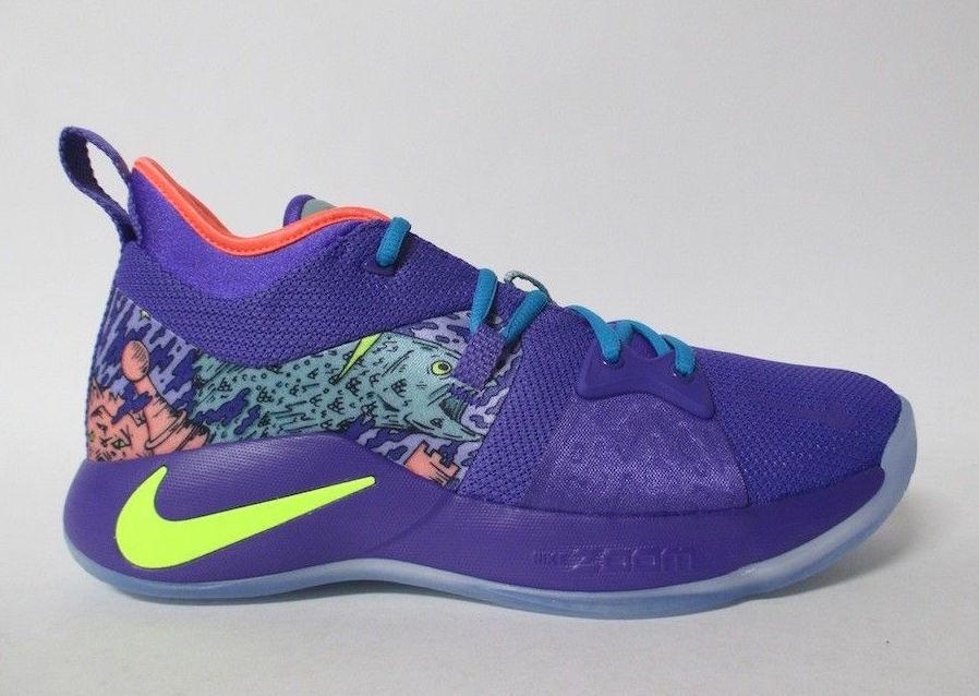 Nike PG 2 Mamba Mentality Cannon Volt Purple Venom AO2986-001