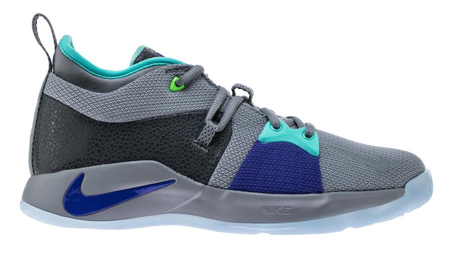 Nike PG 2 Pure Platinum Neo Turquoise AJ2039-002