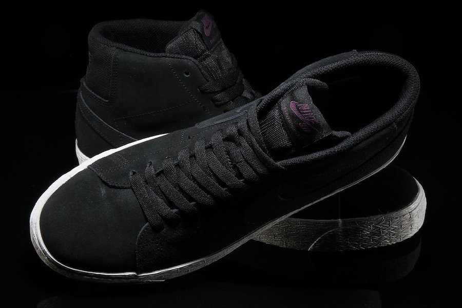 Nike SB Blazer Mid Deconstructed Black Suede AH6416-001