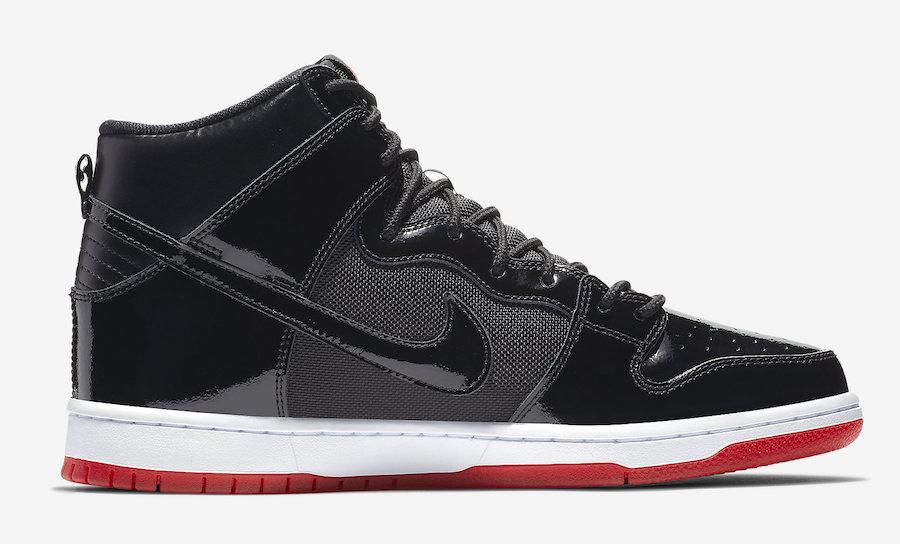 Nike SB Dunk High Bred AJ7730-001 Release Date