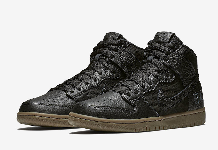 a9020493a37d2 ... coupon for nike sb dunk high brian anderson ah9613 001 black gum d1109  84f35
