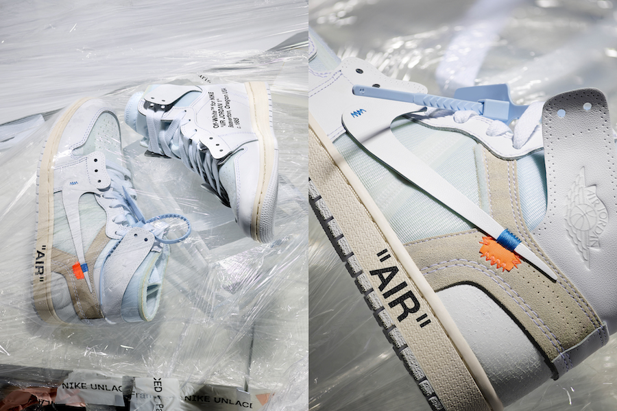 Nike Unlaced Off-White Air Jordan 1