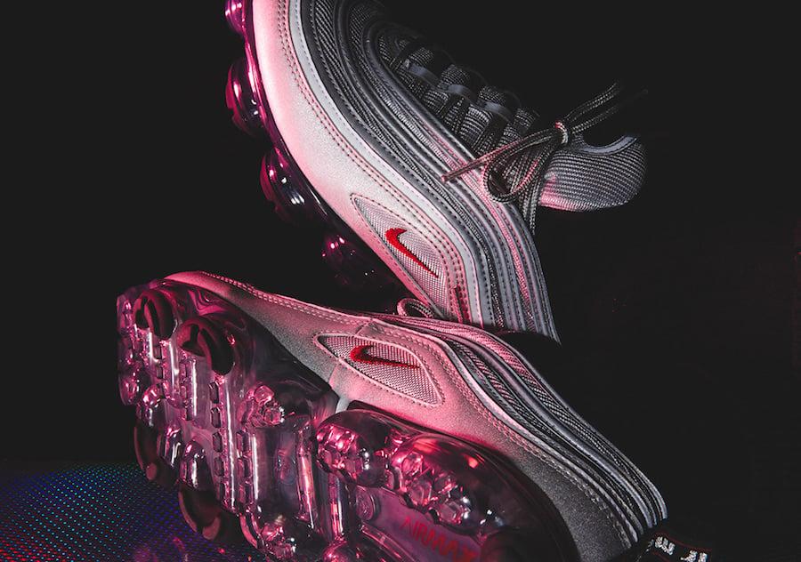 Nike VaporMax 97 Silver Bullet On Feet