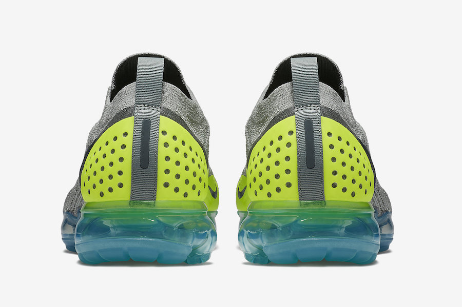 Nike VaporMax Moc 2 Mica Green Neo Turquoise AH7006-300 Release Info