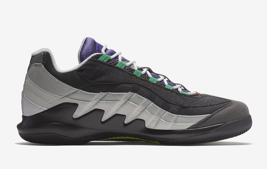 NikeCourt Vapor RF Air Max 95 Greedy AO8759-077