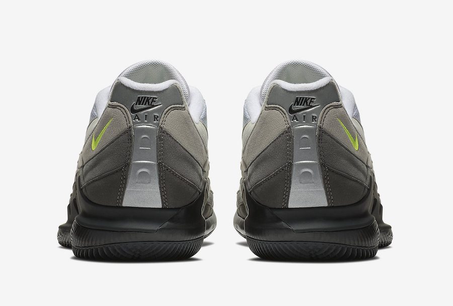 NikeCourt Vapor RF Air Max 95 Neon AO8759-078