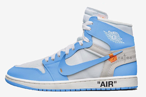 Off-White Air Jordan 1 Powder Blue Release Date