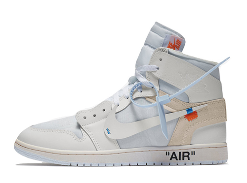 Off-White Air Jordan 1 White Release Date