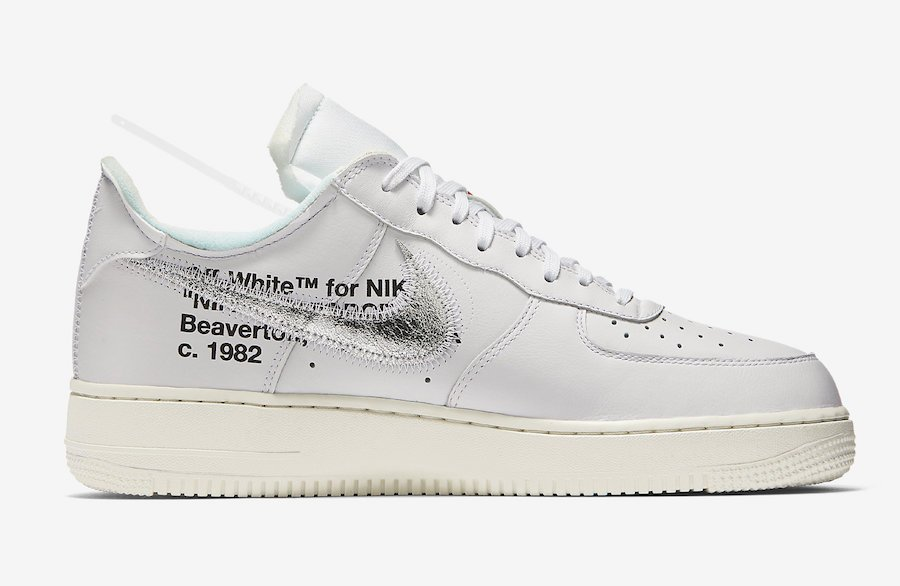 Off-White Nike Air Force 1 Low ComplexCon AO4297-100