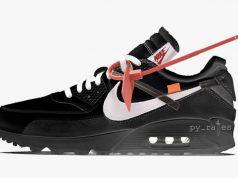 Off-White Nike Air Max 90 Black AA7293-001